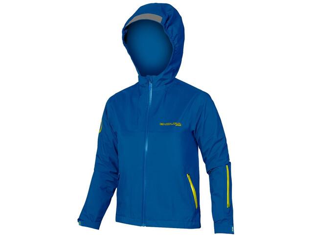 Endura MT500 Waterproof Jacket Kids azure blue